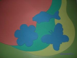Рамка и вкладыши разного цвета